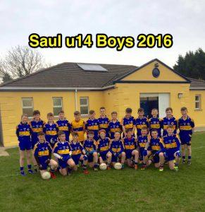 U14 Boys A Rare Squad