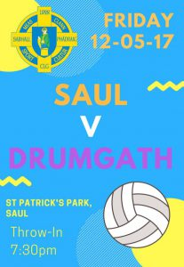 Saul v Drumgath 12-05-2017